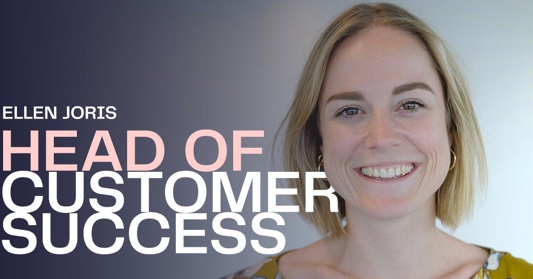 Ellen Joris Head of Customer Success
