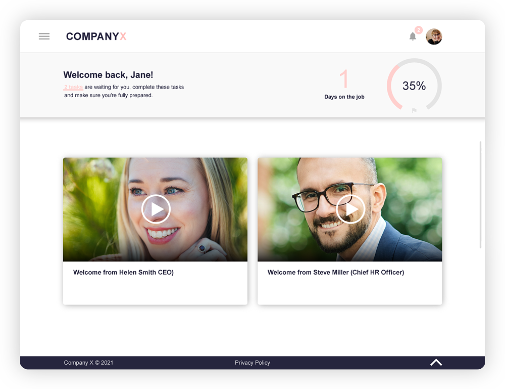 Onboarding-process-template-iPad-CEO-welcome