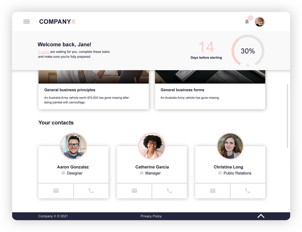 Onboarding-process-template-iPad-key-contacts